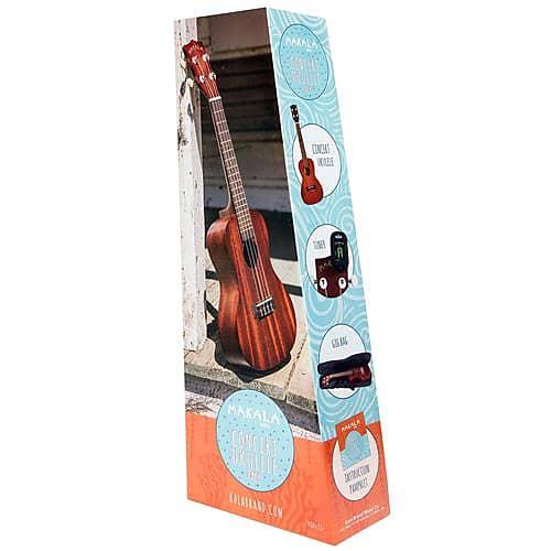 kala satin makala classic concert ukulele pack adorama reverb. Black Bedroom Furniture Sets. Home Design Ideas