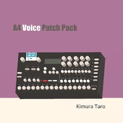 Kimura Taro A4 Voice Patch Pack