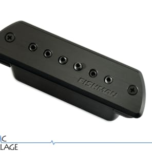 Fishman PRO-BLK-STK Blackstack Acoustic Guitar Soundhole Pickup