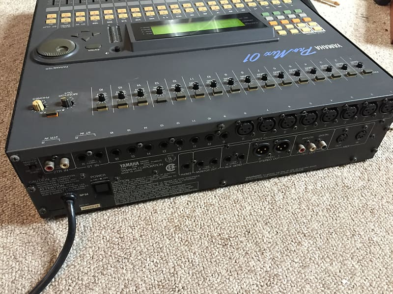 yamaha promix 01 16 channel digital mixer board console as is reverb. Black Bedroom Furniture Sets. Home Design Ideas