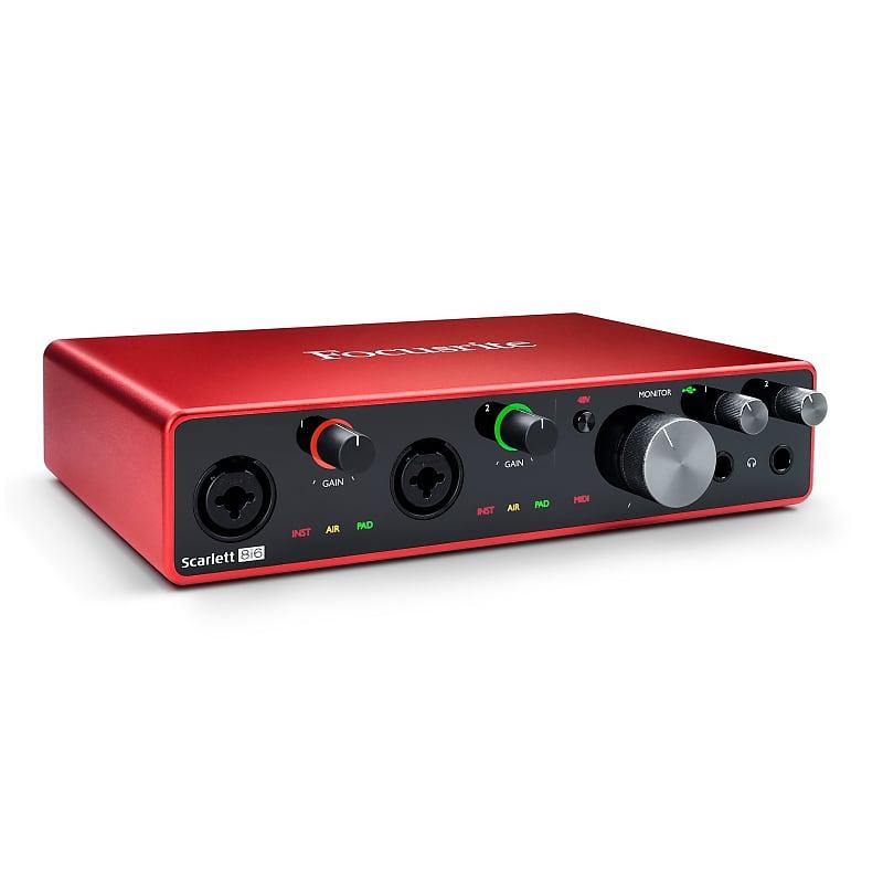 Focusrite Scarlett 8i6 USB Audio Recording Interface (3rd Gen)