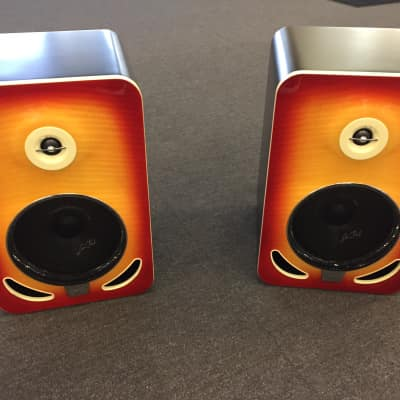 Gibson LP8 Reference Monitor, Pair (2 Pieces) 2015 Cherry Sunburst