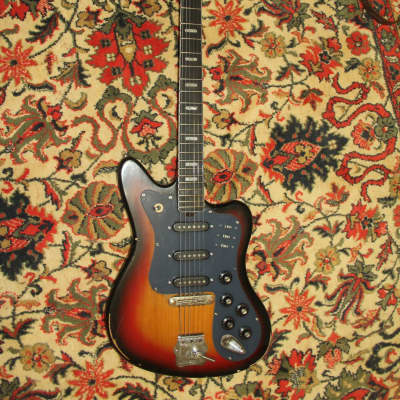 MUSIMA DE LUXE 25 JAZZMASTER JAGUAR ELECTRIC GUITAR VINTAGE AND RARE for sale