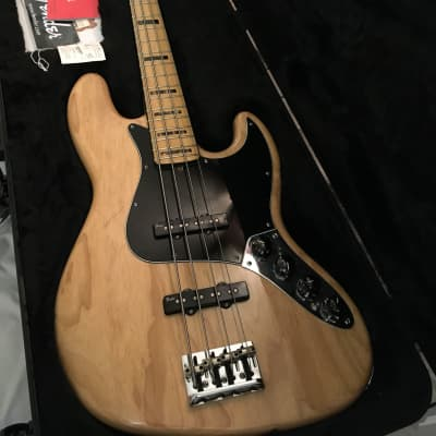 Fender American Deluxe Jazz Bass Ash 2013 for sale