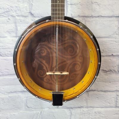 Luna Guitars Celtic 5-String Closed Back Banjo BGB CEL 5 for sale