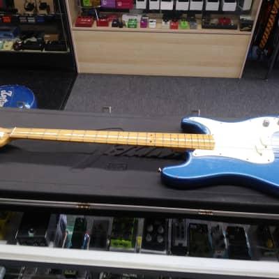Fender Bullet Bass Deluxe 1980 Refinished Not Original Color for sale