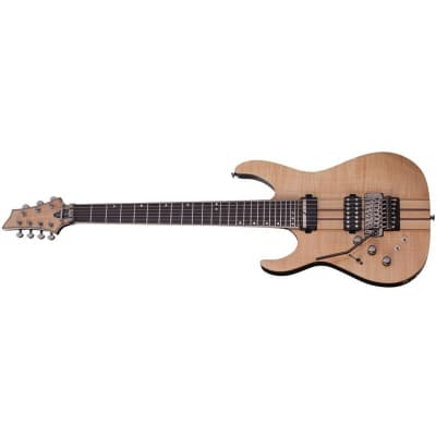 Schecter Banshee Elite-7 FR S, 7-String, Floyd Rose, Sustainiac, Gloss Natural, Left Handed for sale