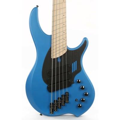 Dingwall NG3 Adam Nolly Getgood Signature Fan Fret 5-String Electric Bass Guitar Laguna Seca Blue for sale