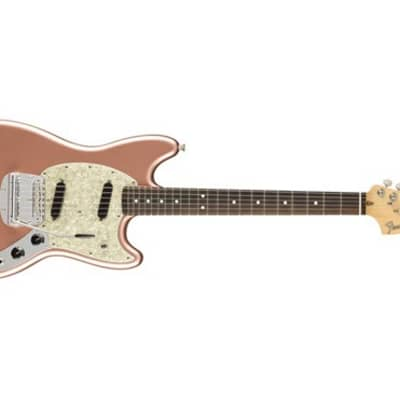 Fender American Performer Mustang Electric Guitar (Penny) (Used/Mint)