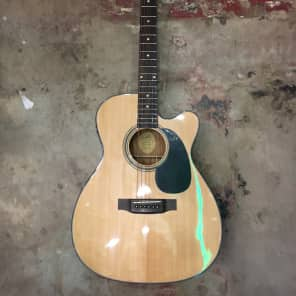 Blueridge BR-43CE Contemporary Series Cutaway Acoustic-Electric Dreadnought Guitar for sale