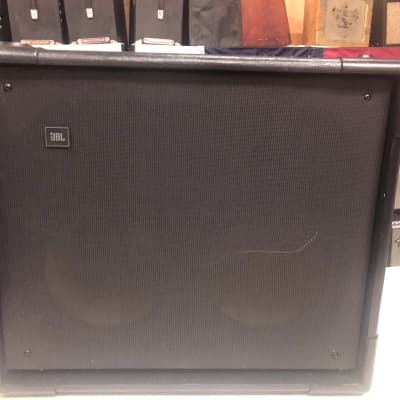 JBL Cabaret 4612 Cabinet 2x8 Black 1980s (unloaded) for sale