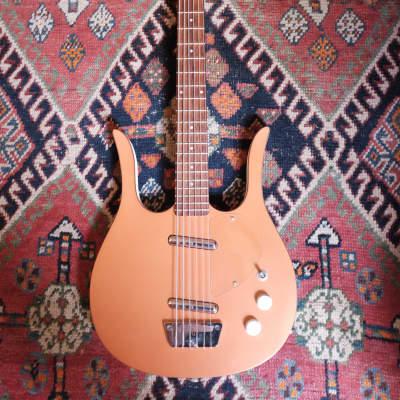 Jerry Jones Long Horn Bass VI Copper: Early Model w/ Handwritten Serial Number for sale