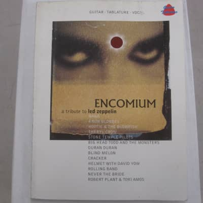 Encomium A Tribute to Led Zeppelin Sheet Music Song Book Guitar Tab Tablature