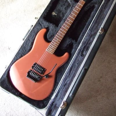 Fender Contemporary Stratocaster 1985-86 Copper Metallic Made In Japan SKB Hard Shell Case for sale