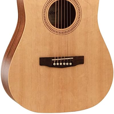 Cort EARTH50-OP Easy Play Acoustic Guitar Open Pore Natural for sale