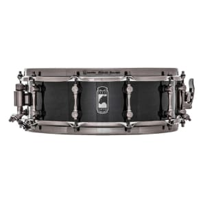 "Mapex BPML4500LNTB Black Panther Black Widow 14x5"" Maple Snare Drum"