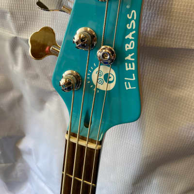 Fleabass Streetbass Blue/White for sale