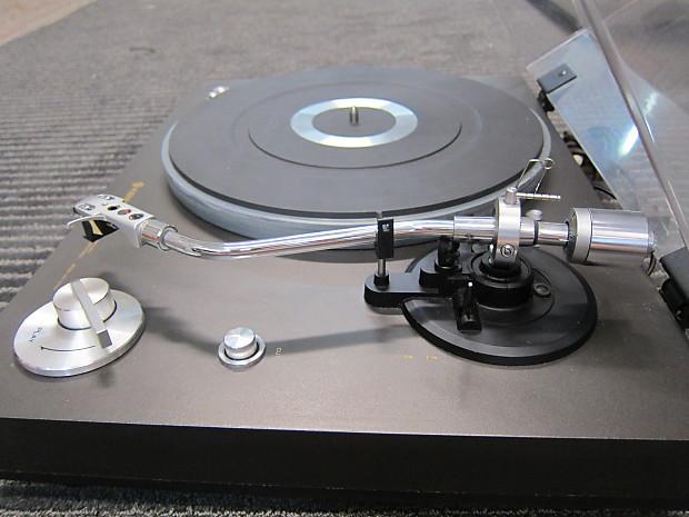 Kenwood Vintage KD-2000 Turntable, Semi Auto, Top Line Precept Cartridge,  Ex Sound, JAPAN 1970s Gray