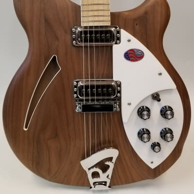 Rickenbacker Deluxe thinline, semi-acoustic Walnut body Electric Guitar, Maple fingerboard, inlaid neck, 360W for sale