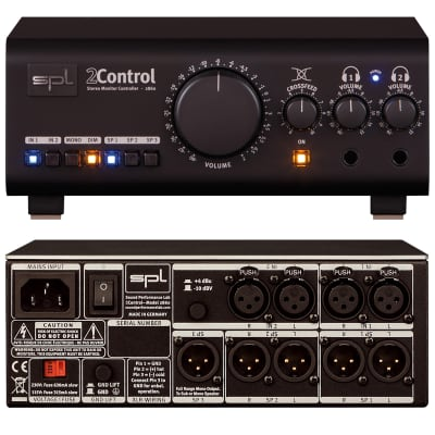 SPL 2Control Model 2860 Stereo Monitor Controller
