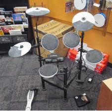 Roland TD-4KP Portable Electronic V-Drum Set Black/White