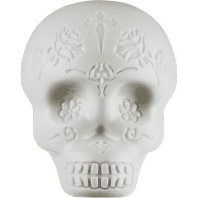 Latin Percussion LP006-GLO Glow-in-the-Dark Sugar Skull Shaker (Egg Shaker)