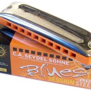 Seydel 10301-C Blues Session Steel Harmonica - Key of C