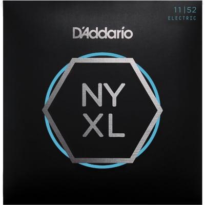 D'Addario NYXL1152 Nickel Wound Medium Top / Heavy Bottom 11-52