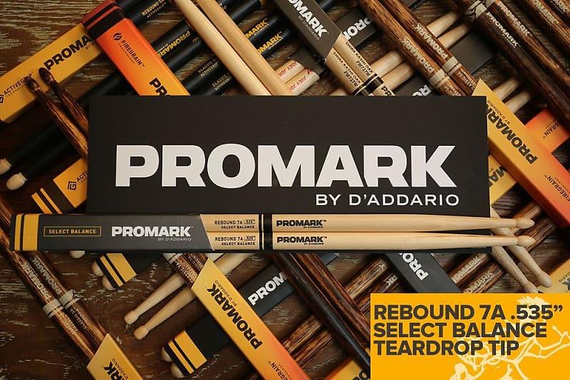 "Promark Forward Balance Drum Stick Wood Tip 535/"" 7A"