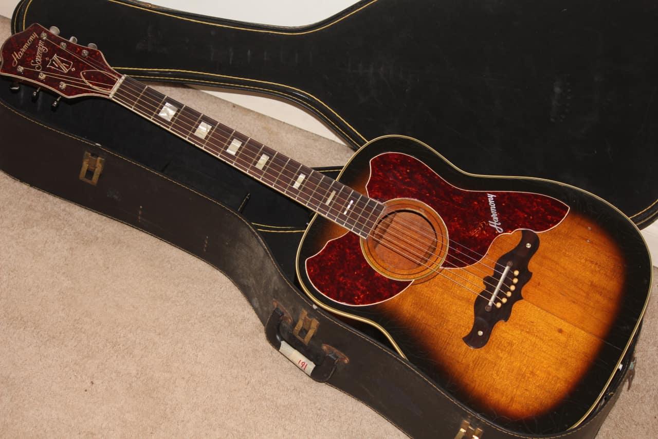 1967 Harmony H 1265 Sovereign Deluxe H1265 Vintage Sunburst Reverb
