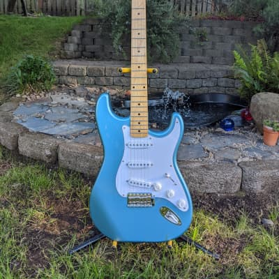 Schecter California Vintage Series Traditional Standard SSS Lake Placid Blue w/ Maple Fretboard for sale