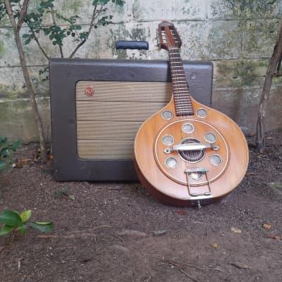 Del Vecchio Resonator Dinâmico Mandolin 1960's Natural for sale