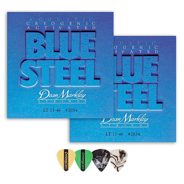 Dean Markley Blue Steel Acoustic Guitar Strings .011 - .052