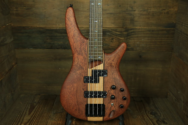 Soundgear By Ibanez Sr750ntf Electric Bass Natural Satin Reverb