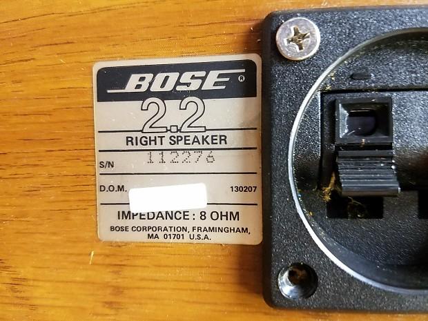 Description Shop Policies Vintage Bose 22 Bookshelf Stereo Speakers
