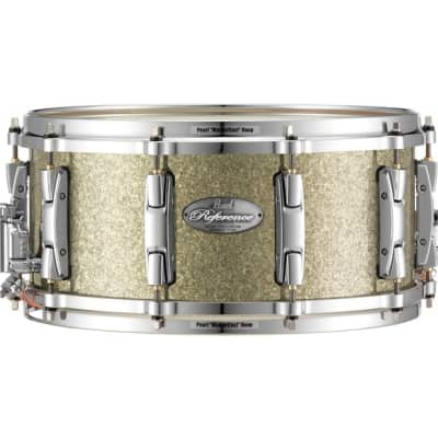 """Pearl 14x6.5"""" Reference Series 20-Ply Snare Drum in Diamond Glitter Finish"""