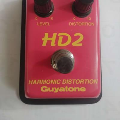 Guyatone HD2 Harmonic Distortion Red for sale