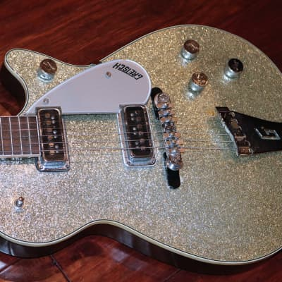 1956 Gretsch Silver jet,  Silver Sparkle for sale