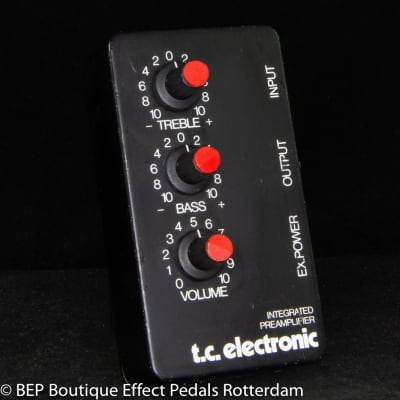 TC Electronic Integrated Preamplifier s/n 568323 early 90's made in Denmark as used by Meshuggah