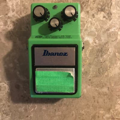 Ibanez TS9 Tube Screamer with Analogman Mod Green