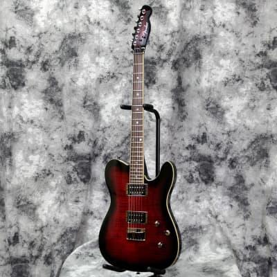Fender Special Edition Custom Telecaster FMT HH 2020 Black Cherry Burst for sale