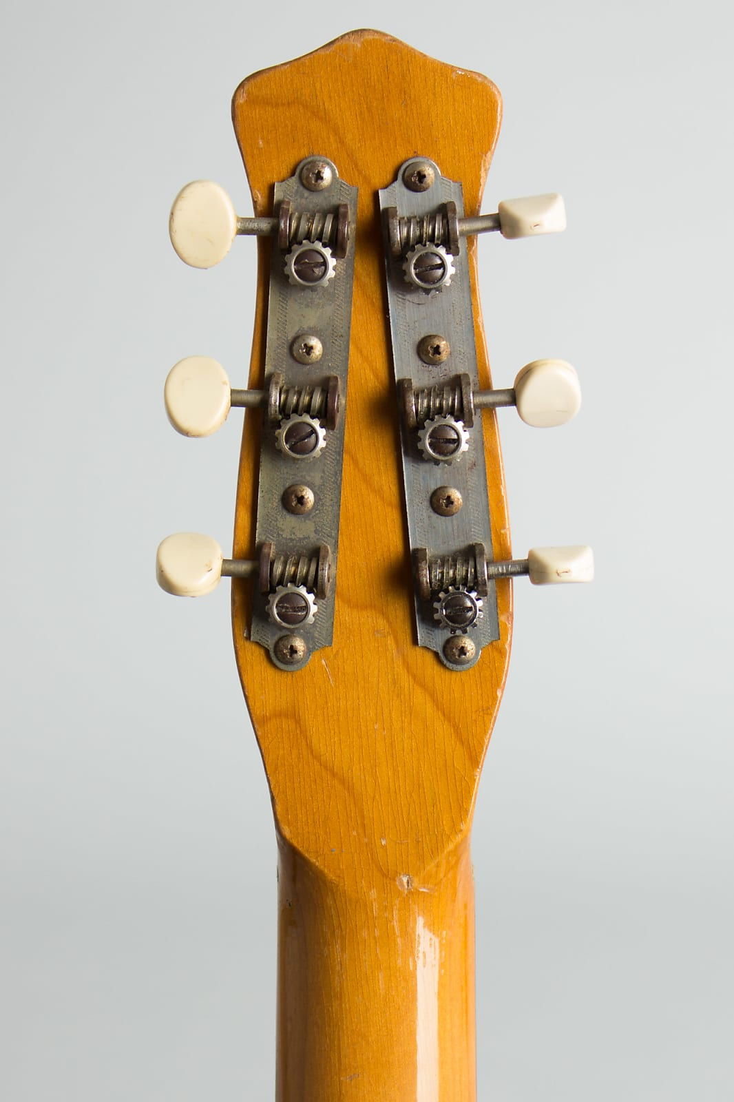 Danelectro  Standard Model 5025 Semi-Hollow Body Electric Guitar (1960), ser. #8040-0, black gig bag case.
