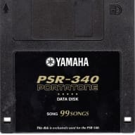 Yamaha PSR-340 Data Disk with 99 Great Songs