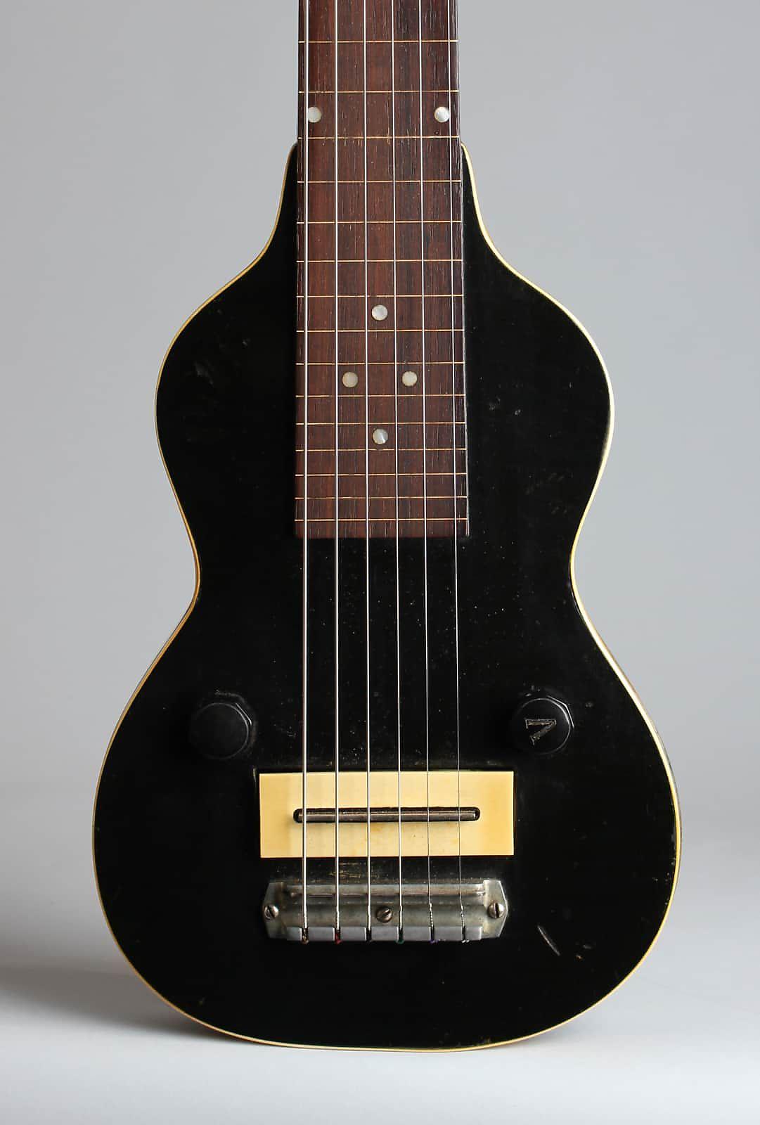 Gibson  EH-100 Lap Steel Electric Guitar (1937), ser. #1318-9, original black hard shell case.