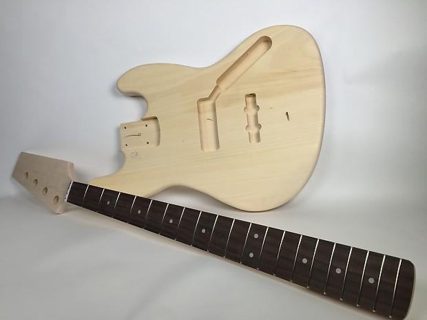 Do it yourself diy electric bass guitar kit j bass style reverb do it yourself diy electric bass guitar kit j bass style build your own solutioingenieria Choice Image