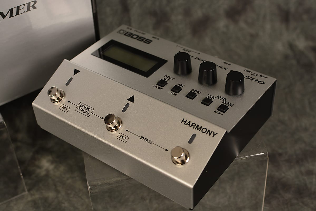Boss VE-500 Vocal Performer Effects Pedal Vocorder Harmony Reverb w FAST  Shipping Included