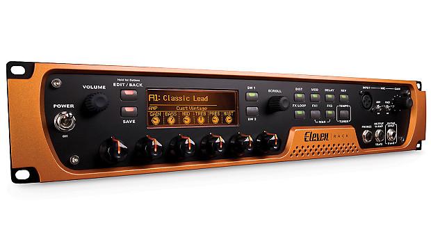 avid eleven rack audio interface guitar processor reverb. Black Bedroom Furniture Sets. Home Design Ideas
