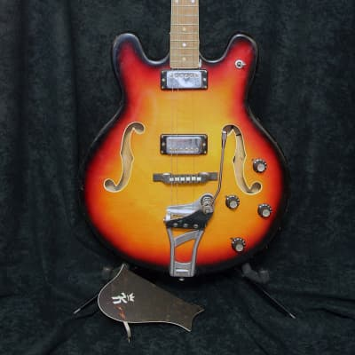 Klira Thinline 1960's Sunburst (for restoration) for sale