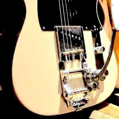 NEW USA Bigsby B5 & Vibramate V5TEV,  Fits Vintage Fender Telecaster W AshTray Bridge
