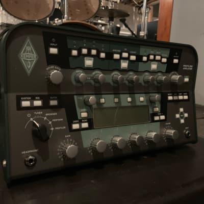 Kemper Amps Profiler Head Guitar Modeling Amp w/ Remote Controller Pedal + SKB Hardshell Case for sale